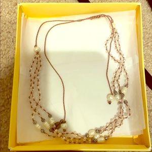 Zacasha Crystals Beaded Crystal Necklace Handmade